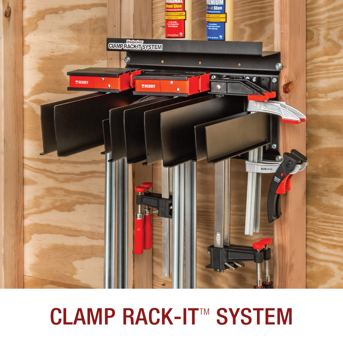 clamp rack system