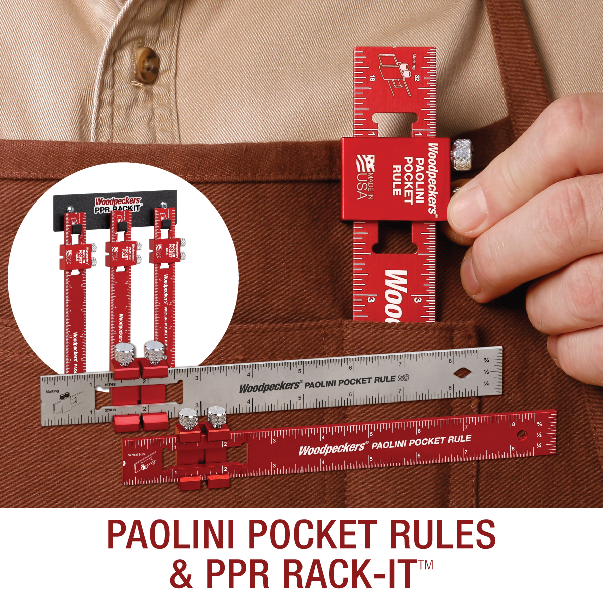 paolini pocket measuring ruler