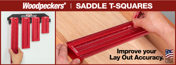 woodworking saddle t square